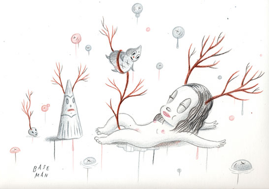 Gary Baseman – My Hunger for Venison